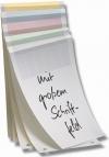 Ordner-Einlagen sortiert (5 x 50 St./Farbe = 250 Stk)