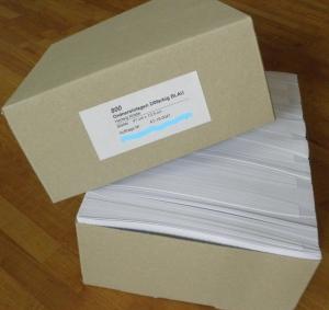 ORDNER-EINLAGEN | Günstige Großpackungen mit 800 Stk/Farbe.