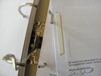 Blitzhefter weiß (100 Stk) - fixiert gelochte Unterlagen