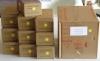 Ordner-Einlagen in ROT - Großpackung mit 800 Stk